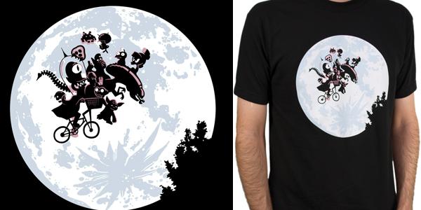 Extra Terrestrials T Shirt