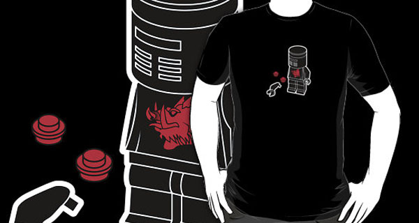 Flesh Wound Lego T-Shirt