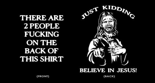 fucking jesus t-shirt