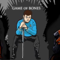 Game of Thrones Parody T-Shirts by Nick Heazell