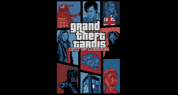 Grand Theft Tardis T-Shirt