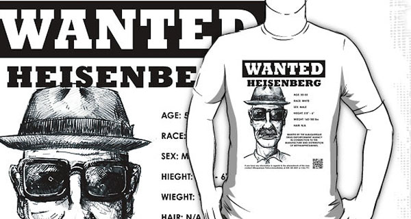 Wanted: Heisenburg T-Shirt