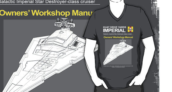 Imperial Star Destroyer Owners Workshop Manual T-Shirt