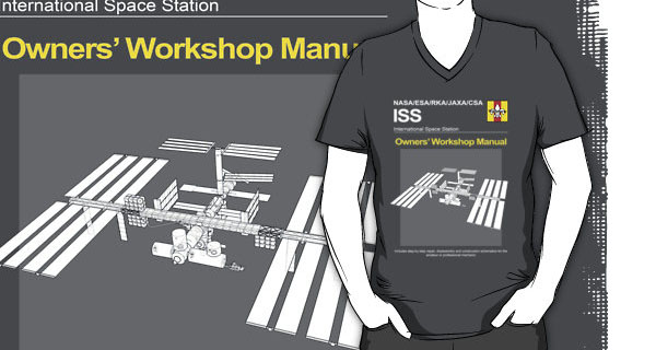 International Space Station Owners Workshop Manual T-Shirt