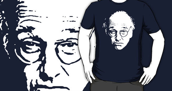 Larry David Portrait T-Shirt