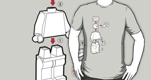 Lego DJ T-Shirt