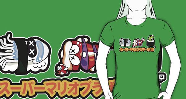 Super Mario Sushi T-Shirt