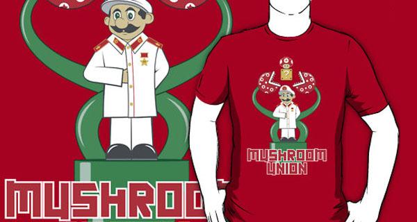 Mushroom Union T-Shirt