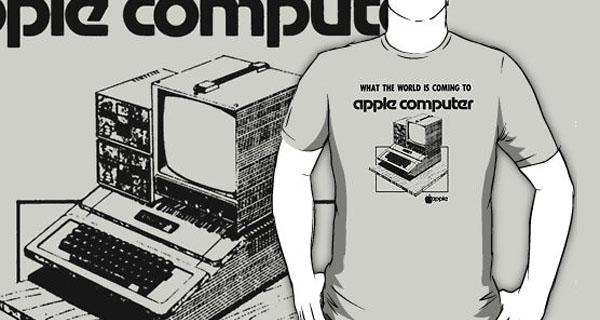 New Apple Computer T-Shirt