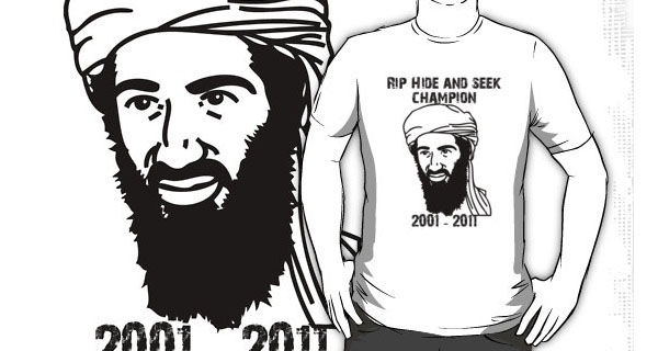 Osama Bin Laden Hide and Seek Champion T-Shirt