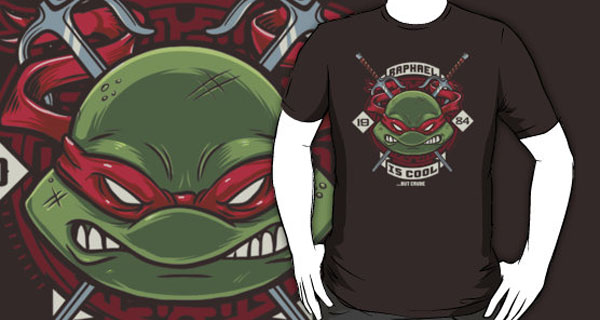 Raph is Cool but Crude T-Shirt