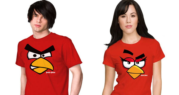 Red Angry Bird T-Shirts