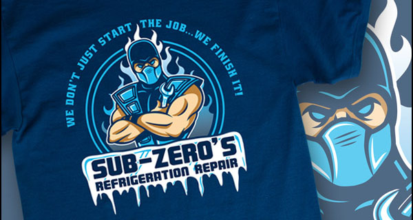 Sub Zeros Refrigeration Repair T-Shirt