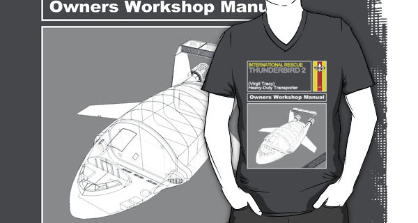 Thunderbird 2 Owners Workshop Manual T-Shirt