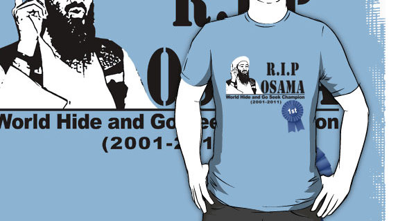 Osama Bin Laden World Hide And Go Seek Champion T-Shirt