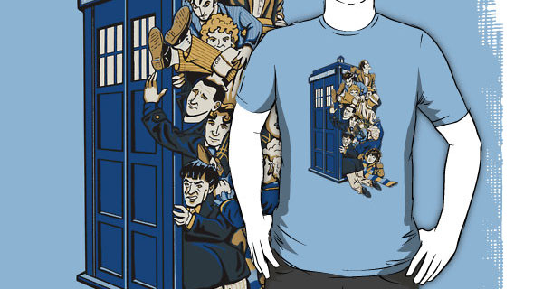 Who's Who - All Eleven Dr Whos T-Shirt