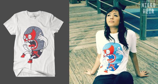 El Luchador T-Shirt - Wikkd Heir