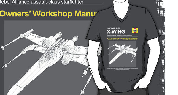 X-Wing Owners Workshop Manual T-Shirt